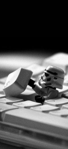 papers.co ae10 storm trooper starwars keyboard film 41 iphone wallpaper