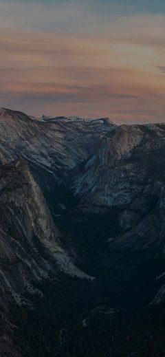 Iphone11papers Com Iphone11 Wallpaper Mc55 Wallpaper Glacier Point At Sunset Yosemite Dark Mountain